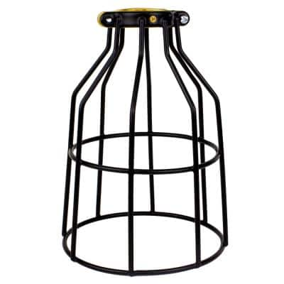 Metal Lamp Guard for Light Bulbs, Vintage Bulbs, Edison Light Bulb Guard 1 Pack