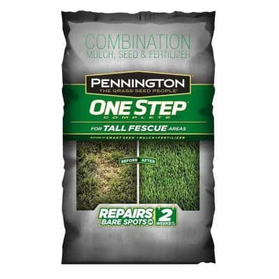 35 lb. One Step Complete  for Tall Fescue with Smart Seed, Mulch, Fertilizer Mix