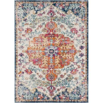 Demeter Ivory 3 ft. 11 in. x 5 ft. 7 in. Area Rug
