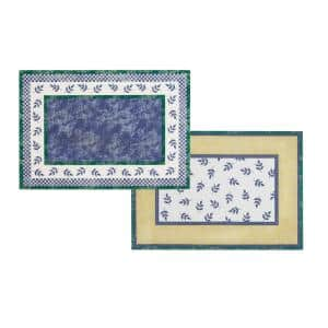 14 in. W x 20 in. L Multi-Color-Color Switch 3-Print Placemats (Set of 4)