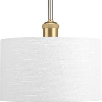 Cordin Collection 1-Light Brushed Nickel Pendant