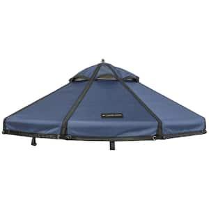 Cobalt Sky Polyester Canopy for 5 ft. Pet Gazebo