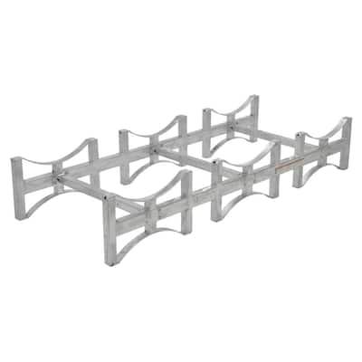 3 Drum 55 Gal. Galvanized Stackable Drum Rack