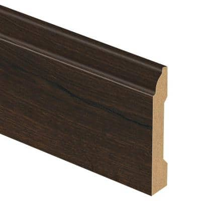 Vintage Tobacco Oak 9/16 in. Thick x 3-1/4 in. Wide x 94 in. Length Laminate Wall Base Molding