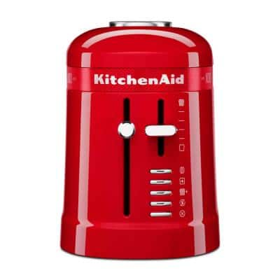 100-Year Limited Edition Queen of Hearts 2-Slice Passion Red Toaster
