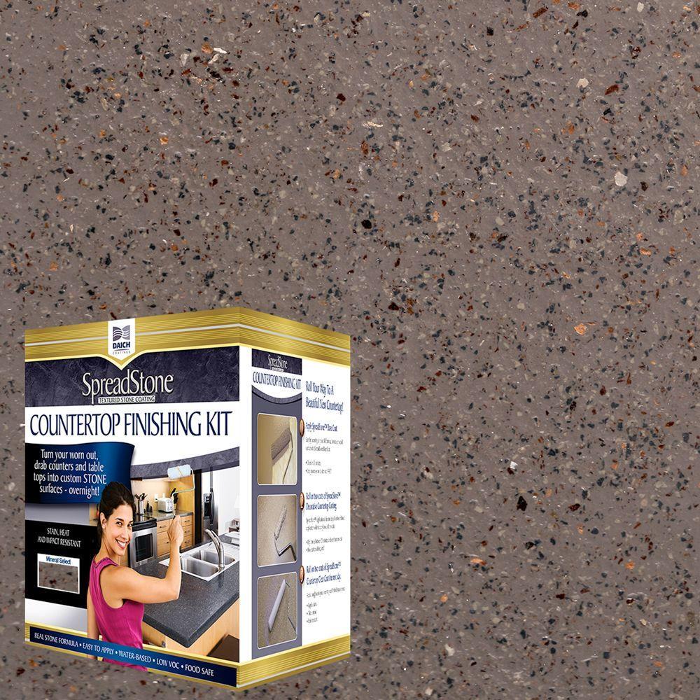 Mineral Select 1 qt. Ironstone Countertop Refinishing Kit