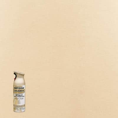 11 oz. All Surface Metallic Champagne Mist Spray Paint and Primer in One (6-Pack)