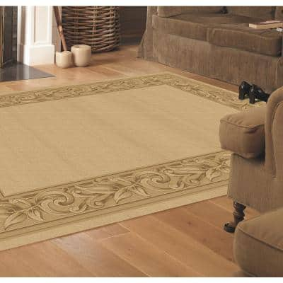 Elegant Embrace Cream 4 ft. x 6 ft. Area Rug