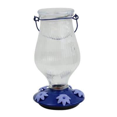 Oasis Top-Fill Decorative Glass Hummingbird Feeder - 38 oz. Capacity