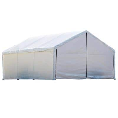 18 ft. W x 40 ft. D x 10 ft. H SuperMax Fire-Rated Canopy Enclosure Kit Frame and Canopy Sold Separately