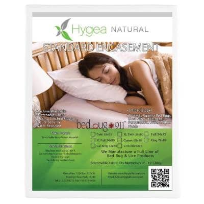 Bed Bug, Non-Woven, and Water Resistant California King Mattress Or Box Spring Cover