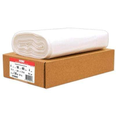 4 ft. x 100 ft. Clear 4 mil Plastic Sheeting