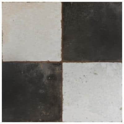 Kings Damero 17-5/8 in. x 17-5/8 in. Ceramic Floor and Wall Tile (11.02 sq. ft./Case)