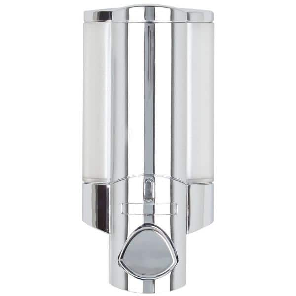 17 oz Capacity Stainless Steel Wall Mount Single Chember Soap Dispenser