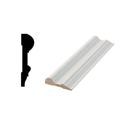 WG 1001 - 11/16 in. x 2-3/4 in. Primed Finger-Jointed Chair Rail Moulding