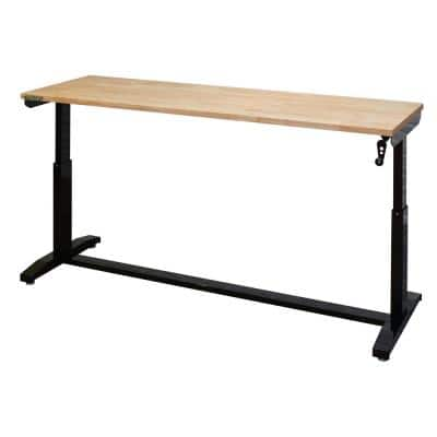 72 in. Adjustable Height Work Table