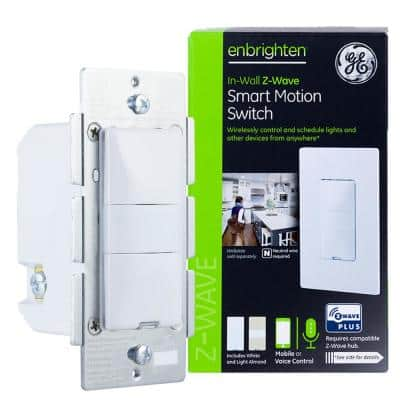 Enbrighten Z-Wave Plus Smart Lighting Control Motion Switch