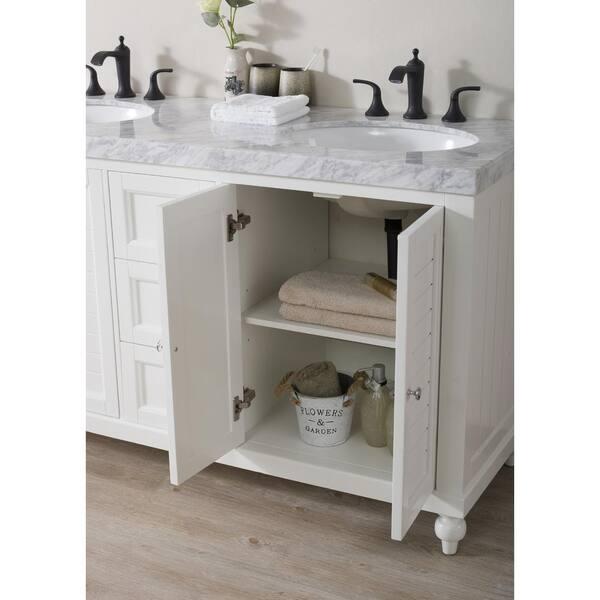 Stufurhome Kent 60 In Bath Vanity, Kent Building Supplies Bathroom Vanities