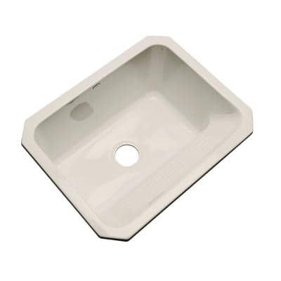 Kensington Undermount Acrylic 25 in. Single Bowl Utility Sink in Desert Bloom