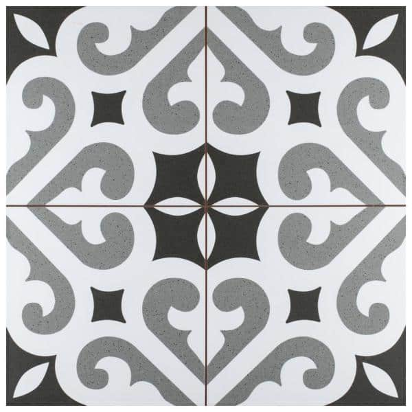 Merola Tile Take Home Sample Thornbury 9 In X Ceramic Floor And Wall S1fpe18tho The Depot