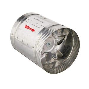 240 CFM 6 in. Booster Fan for Indoor Garden Ventilation