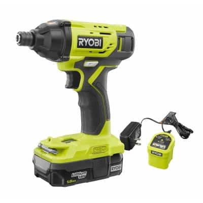 18V ONE+ Cordless 1/4 in. Impact Driver Kit with 1.5 Ah Battery and Charger