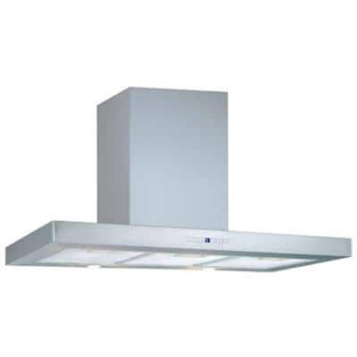 Segovia 36 in. Under Cabinet Convertible Range Hood with Light in Stainless Steel