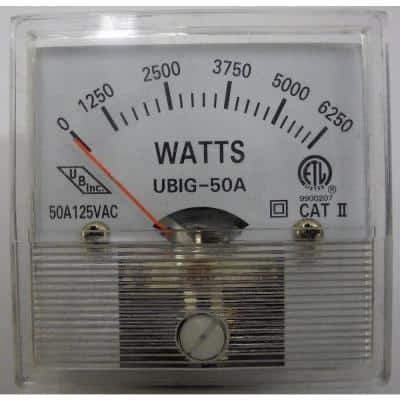 Replacement 6250W Wattage Meter for 12500W EGS Units