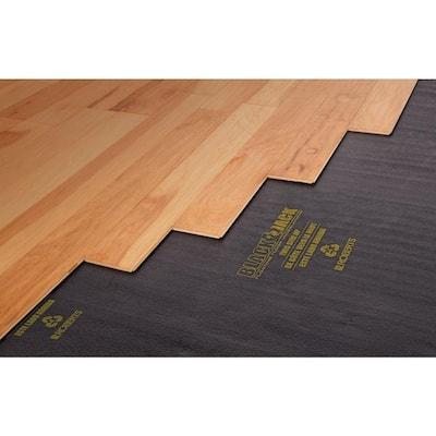 600 sq. ft. Value Roll of Black Jack Pro 2-in-1 Laminate Underlayment