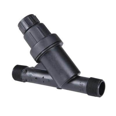 25 psi Filter/Pressure Regulator with 3/4 in. Pipe Thread