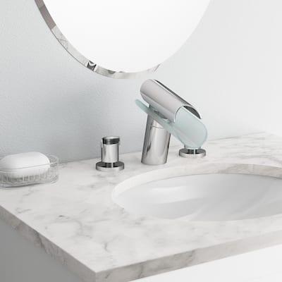 Morgana 8 in. Widespread 2-Handle Low-Arc Bathroom Faucet in Chrome