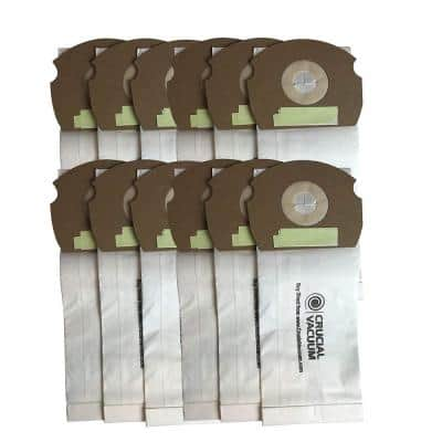 Bags Replacement for Eureka AS AirSpeed Part 66655, 68155-6, 68155, 67726, 84404 (12-Pack)
