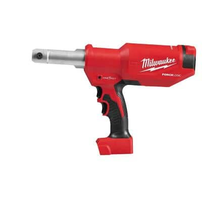 M18 18-Volt Lithium-Ion Cordless FORCE LOGIC 6-Ton Pistol Utility Crimping (Tool-Only)