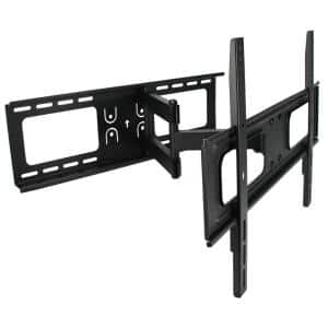 32 in. to 70 in. Full Motion Wall Mount in Black