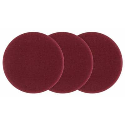 5 in. Foam Dual Action Polisher Cutting Pad Set (3-Piece)