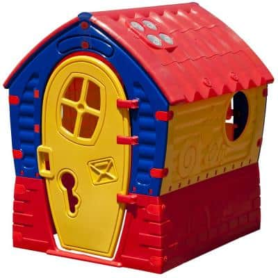 PalPlay Dream House Playhouse in Red