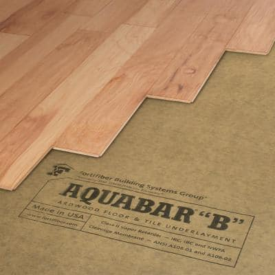 """500 sq. ft. 36 in. Wide x 167 ft. Long x 7 mil Thick Aquabar """"B"""" Tile Underlayment Roll"""
