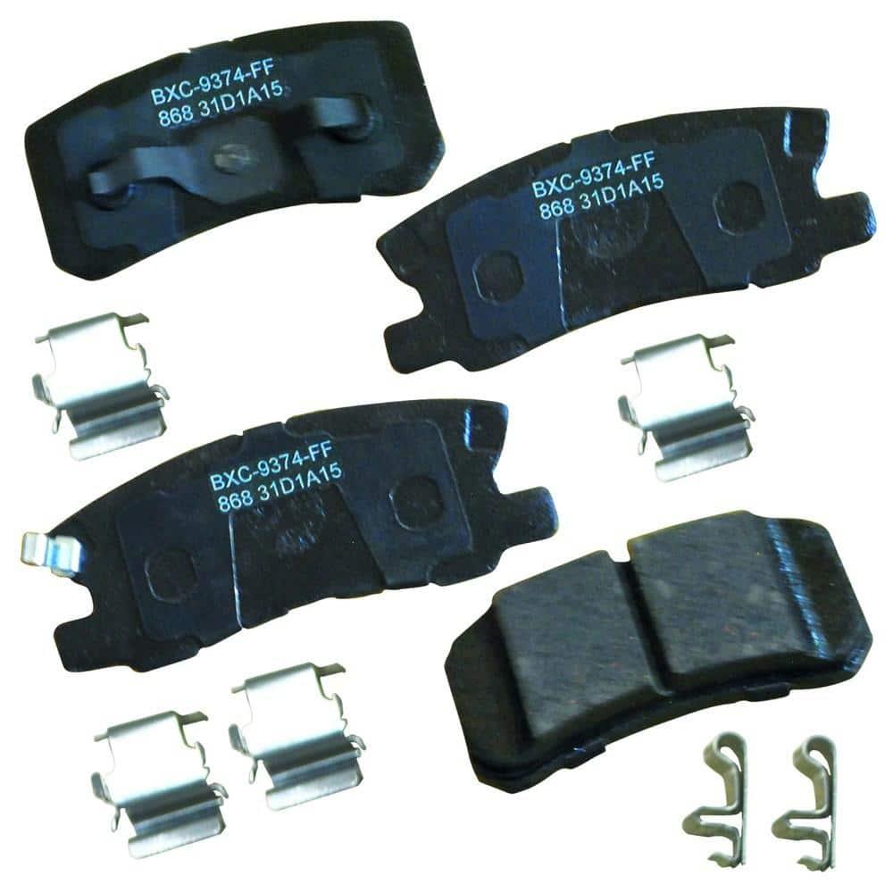 Stop By Bendix Disc Brake Pad Set Sbc868 The Home Depot