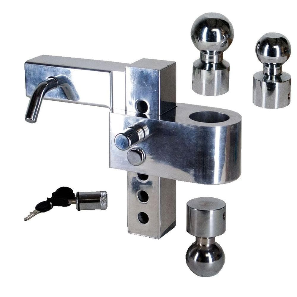 Uriah Products Class V Adjustable Aluminum Alloy Ball Mount With 3 Hitchballs Ut623410 The Home Depot
