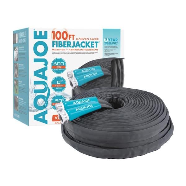 Dia X 100 Ft Flexible Kink Free, Garden Hose To Pvc Adapter Home Depot