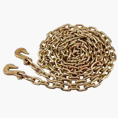3/8 in. x 20 ft. Grade 70 Trucker's Chain with Grab Hooks