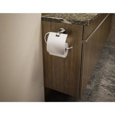 Dia Wall-Mounted Toilet Paper Holder in Chrome