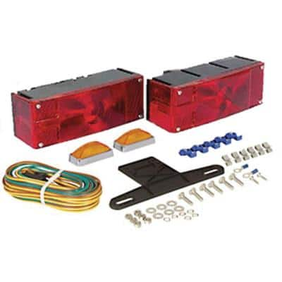 Waterproof ST36/37 Series Universal Mount Combination Tail Light Kit - Deluxe