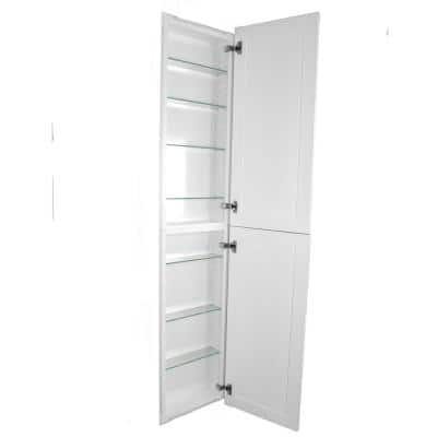 Silverton 14 in. x 50 in. x 4 in. Frameless Recessed Medicine Cabinet/Pantry