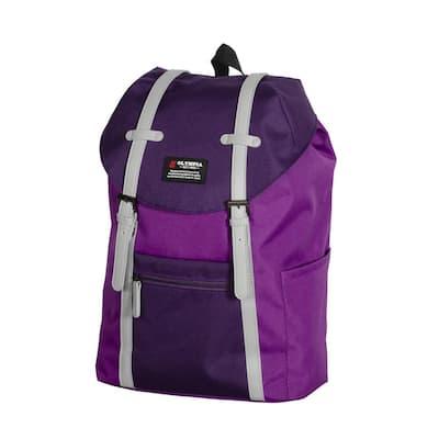 Duke 16 in. Purple Urban Backpack