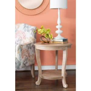 Whither Natural Accent Side Table