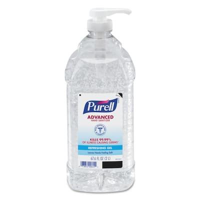 2 l Advanced Instant Hand Sanitizer Bottle (4 Per Carton)