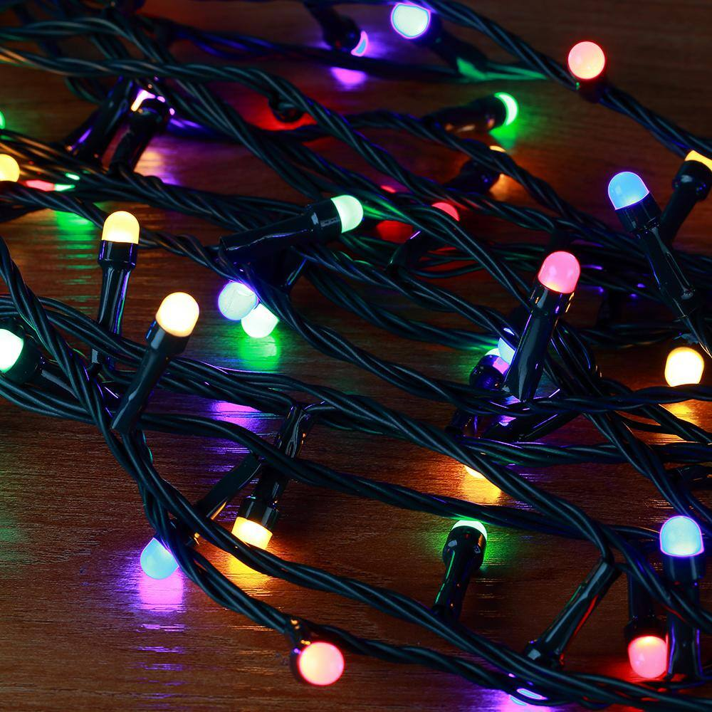 Led Multi Coloured Christmas Lights Low Voltage Indoor /& Outdoor With Effects