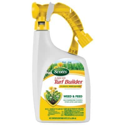 32 oz. Liquid Turf Builder with Plus 2 Weed Control
