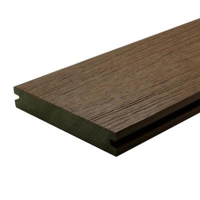 UltraShield Naturale Magellan 1 in. x 6 in. x 4 ft. Brazilian Ipe Solid with Groove Composite Decking Board (4-Pack)